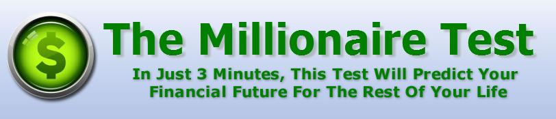 millionaire test logo